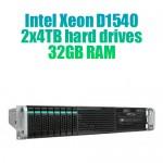 Dedicated server D1540-2