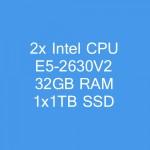 Dedicated Server DE52630V2-H