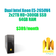 DataNOC Dedicated server DE52650V4-1