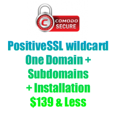 PositiveSSL Wildcard-yearly