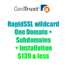 RapidSSL Wildcard-yearly